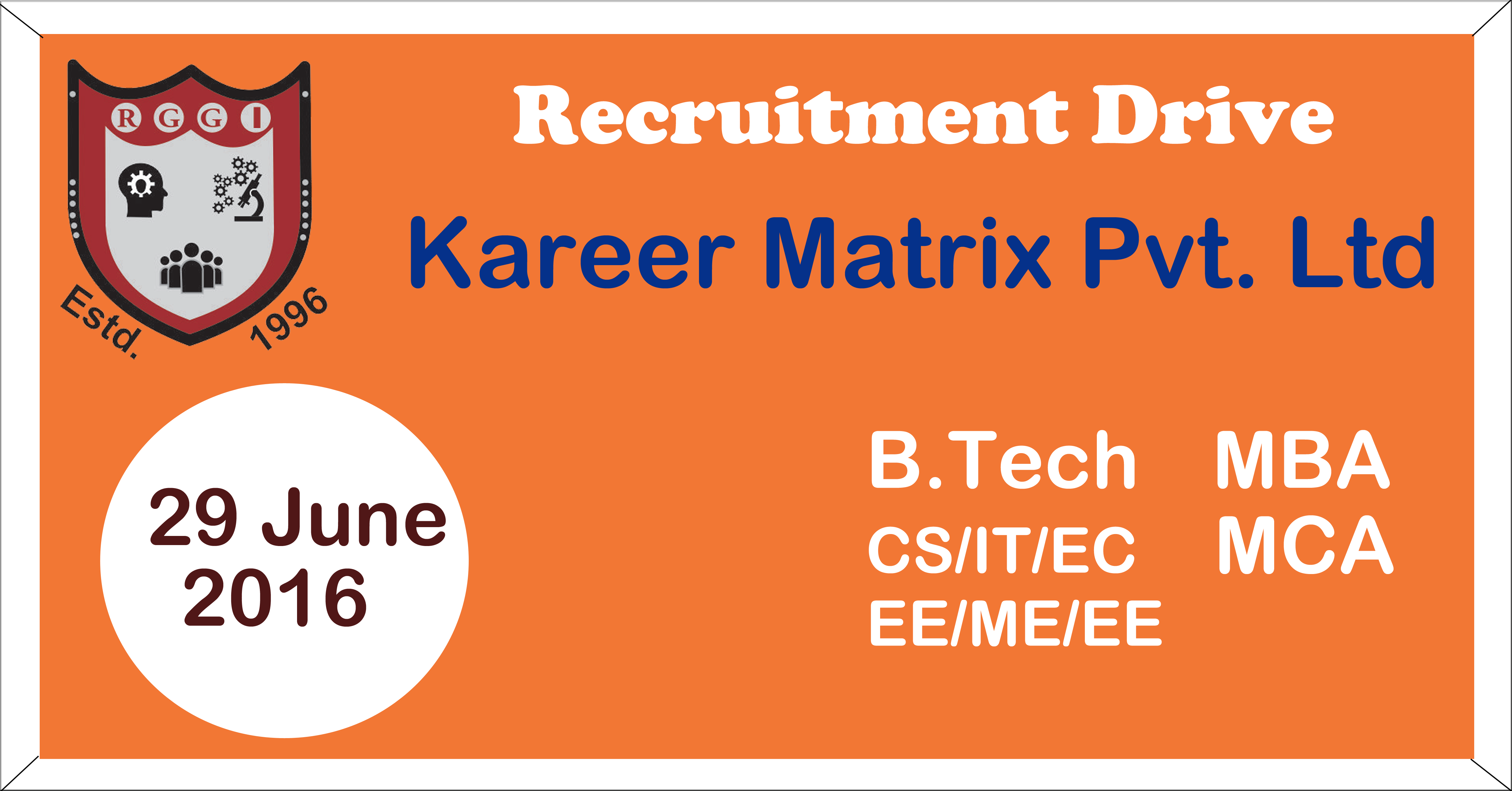 Kareer Matrix Pvt. Ltd. Recruitment